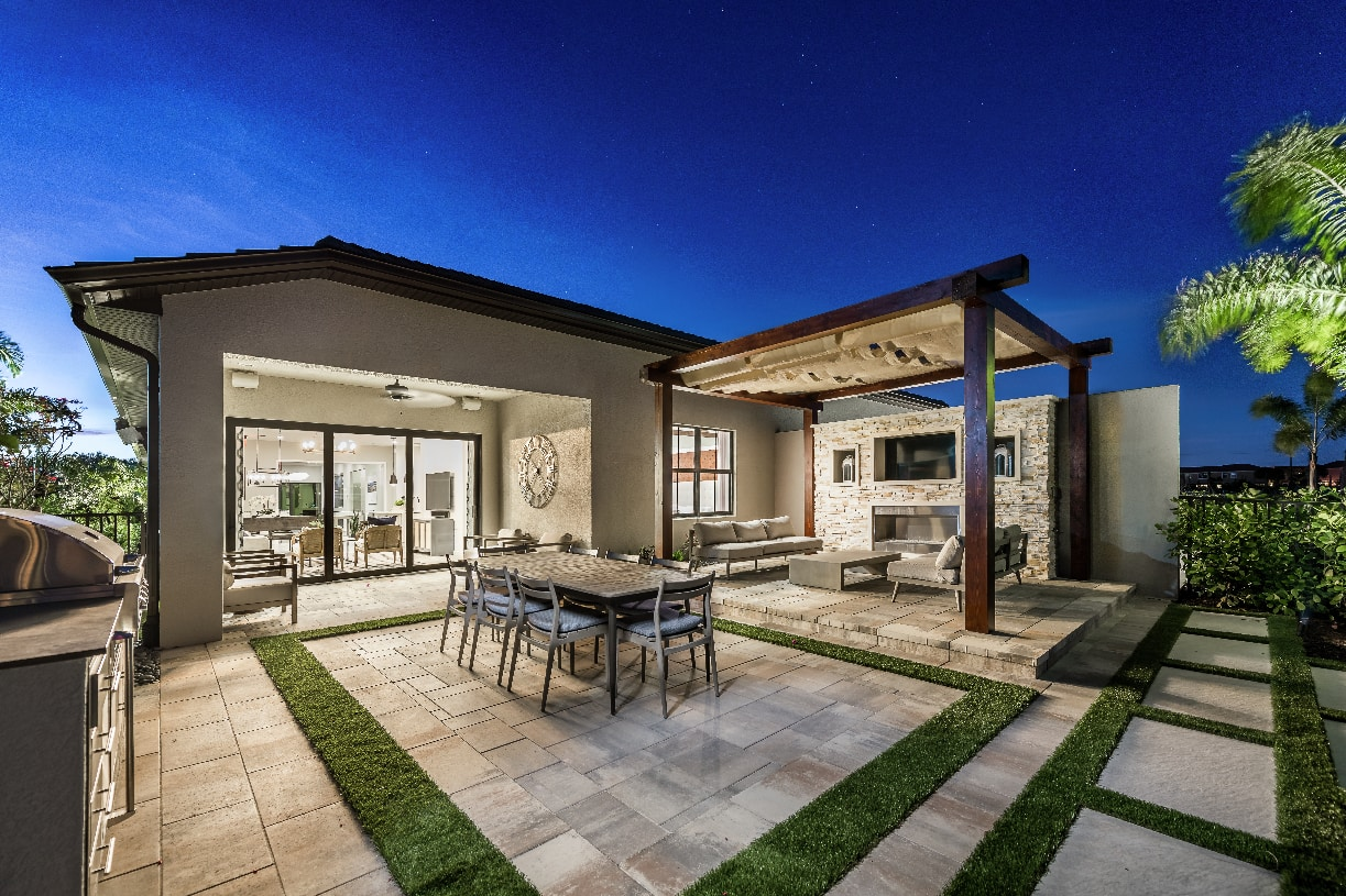 Large private backyards with ample space for relaxing
