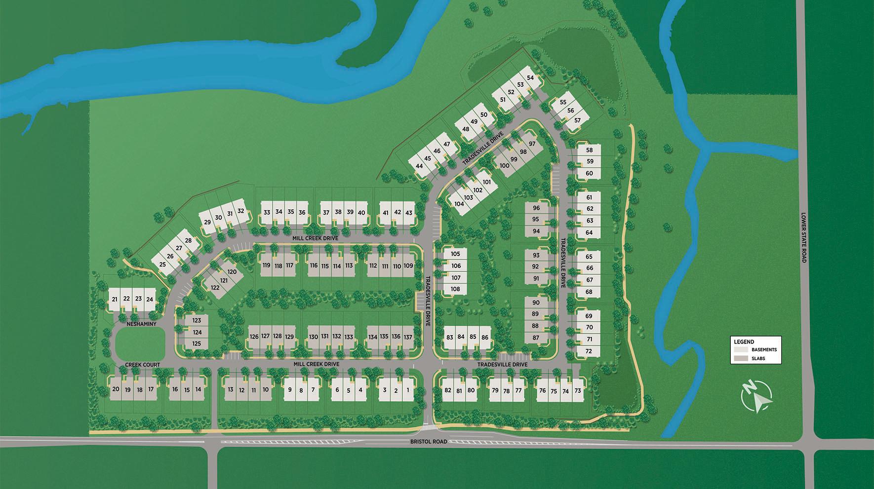 Doylestown Walk - Site Plan