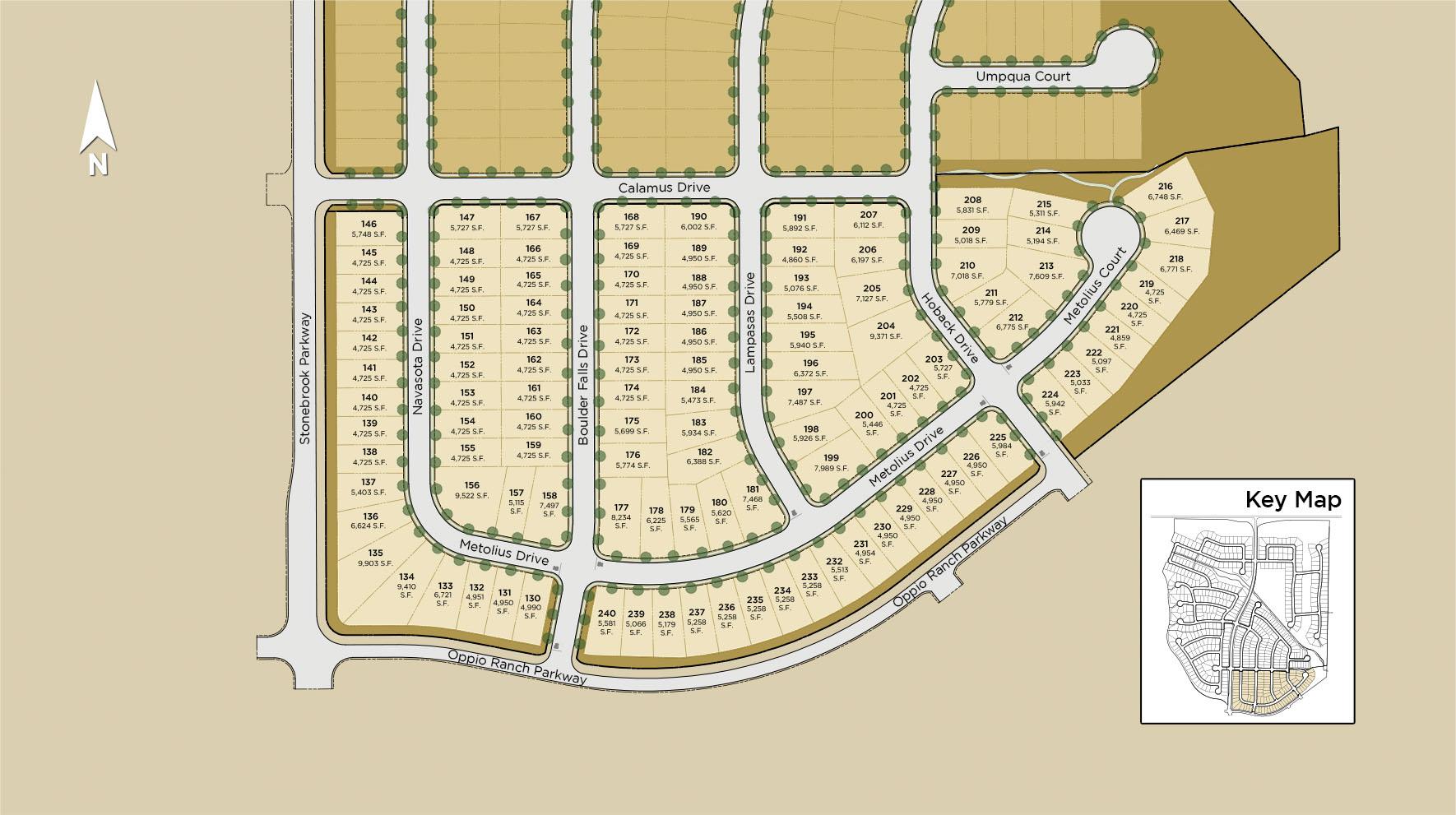 Merida at Stonebrook Site Plan I
