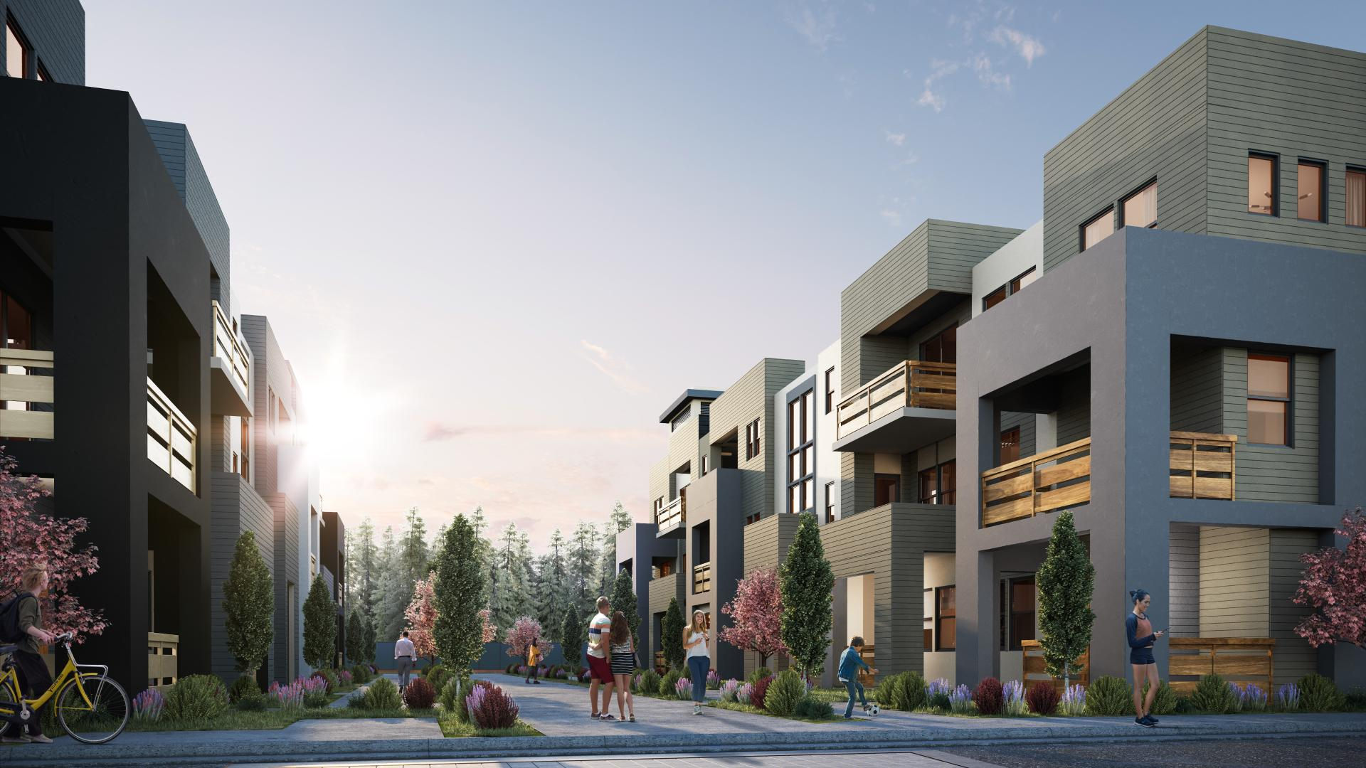 4 luxury townhome designs