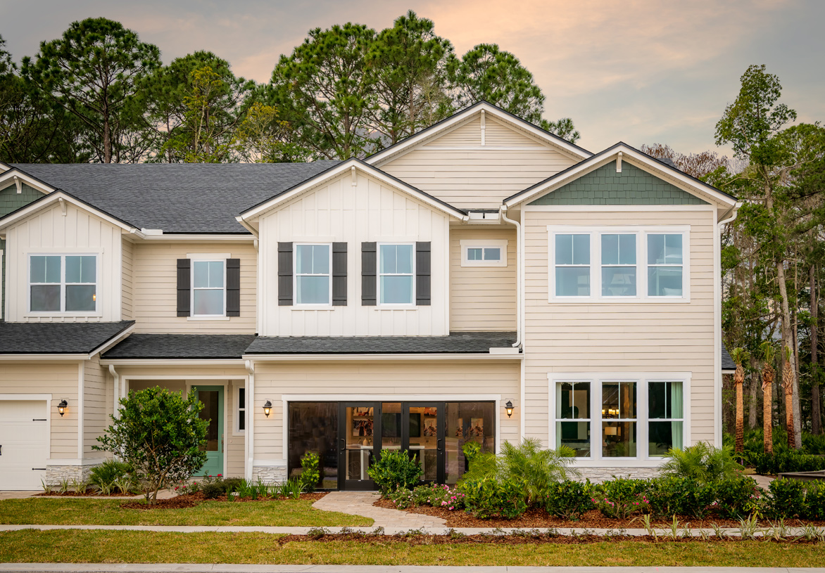 Private, gated townhome community