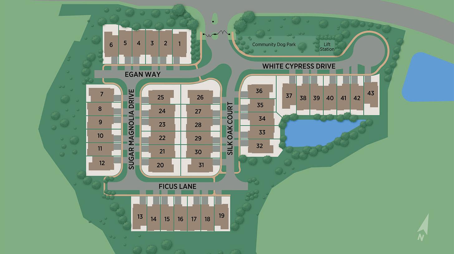 Oakwood at Nocatee Site Plan