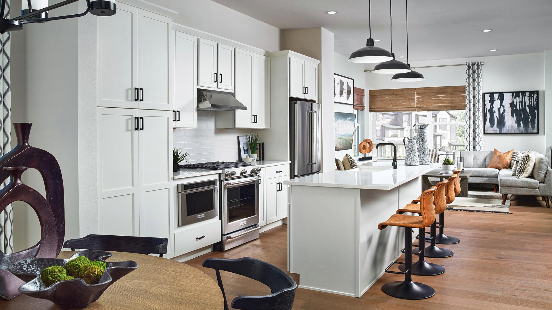 Baker kitchen open to great room