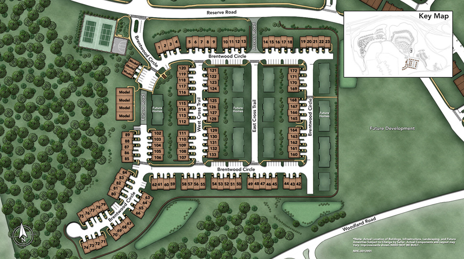 Rivington BY Toll Brothers Site Plan