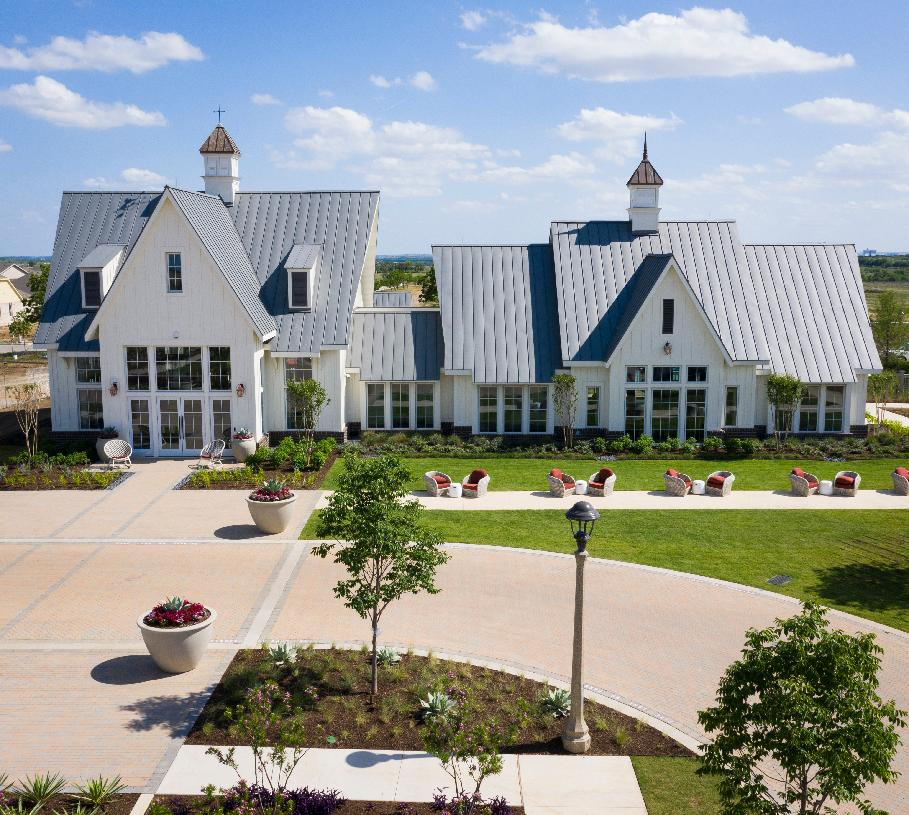 Gather with friends at Jackson Hall Amenity Center