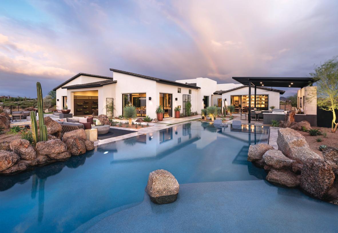 Distinct Modern, Desert Contemporary, Desert Prairie, and Mission-style architecture
