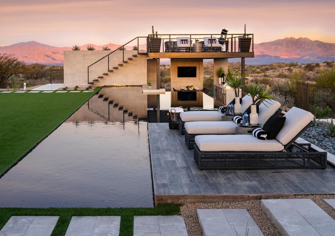 Large home sites provide serene Desert escape