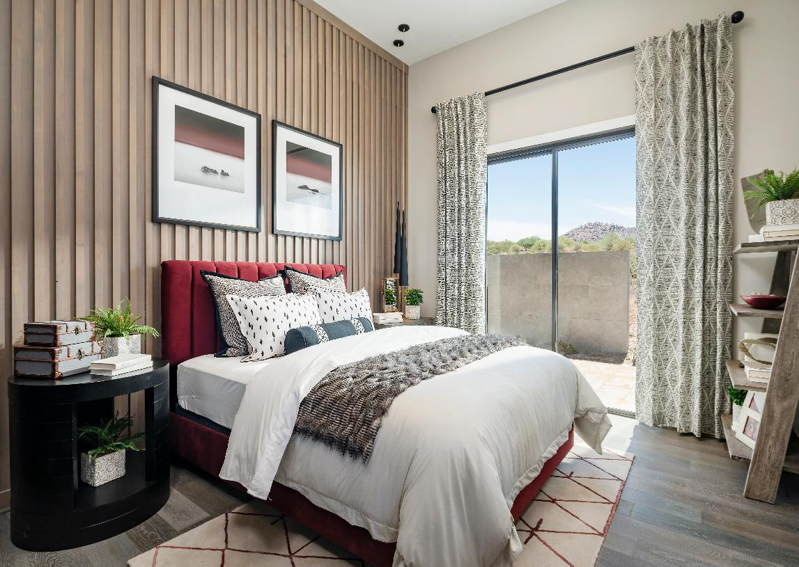 Guest casita bedroom
