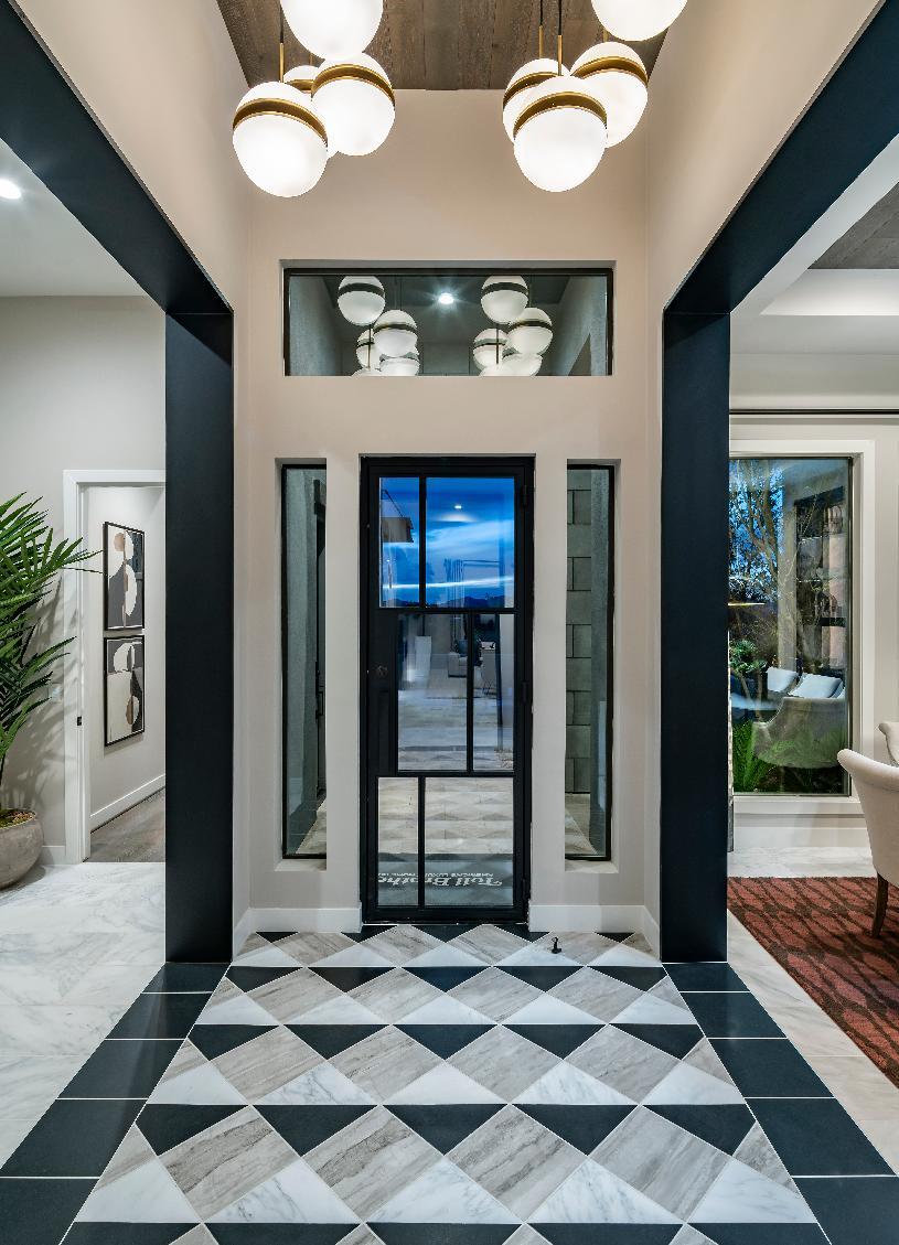 Beautiful entry foyer