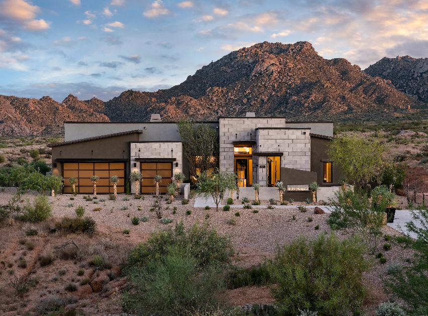 Toll Brothers - Mayne Desert Contemporary Photo