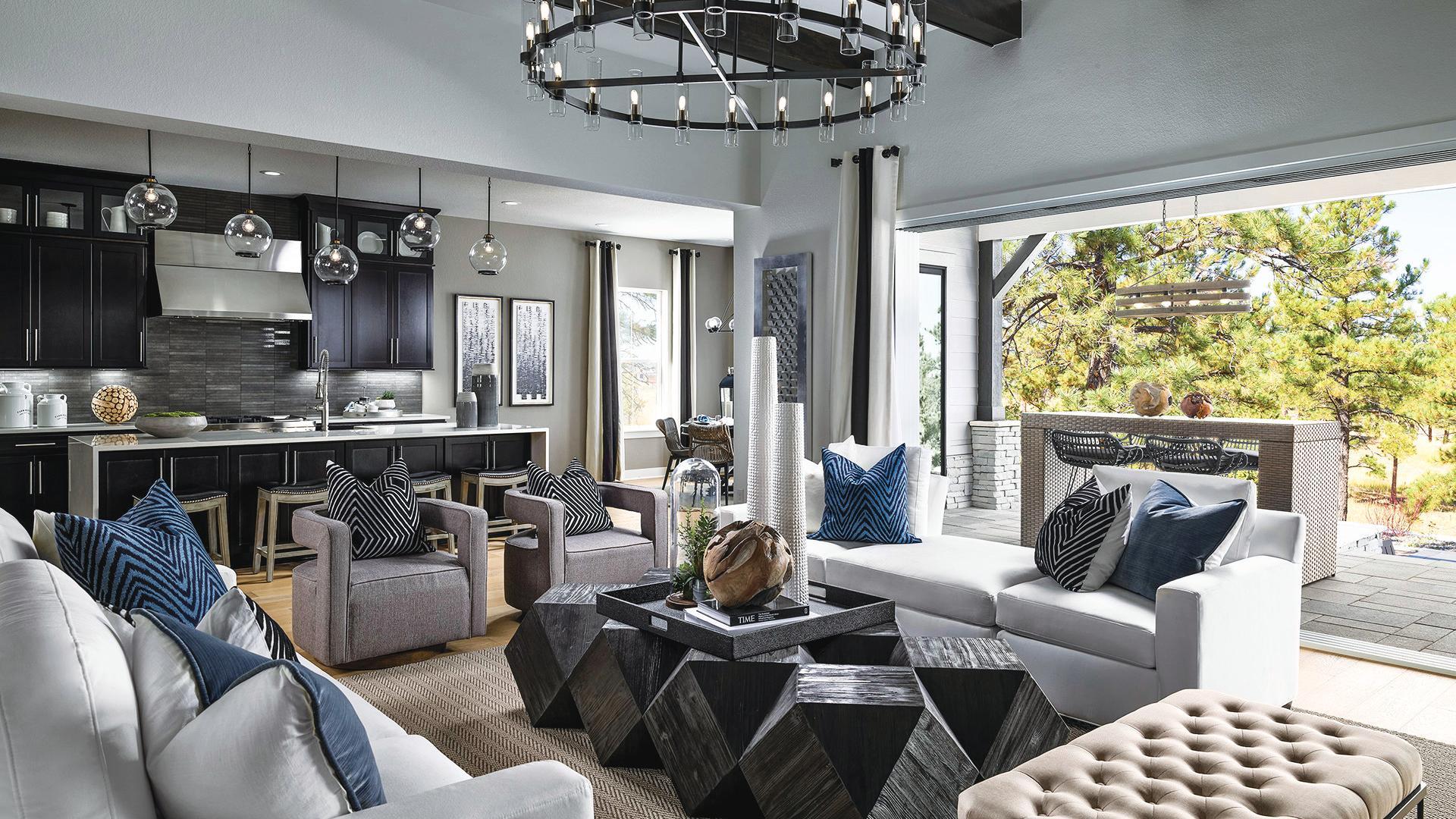 Crestone open-concept home design