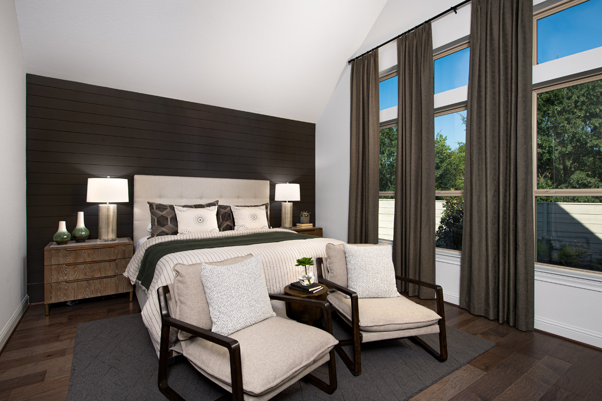Loralai's charming primary suite is perfect for rest and relaxation
