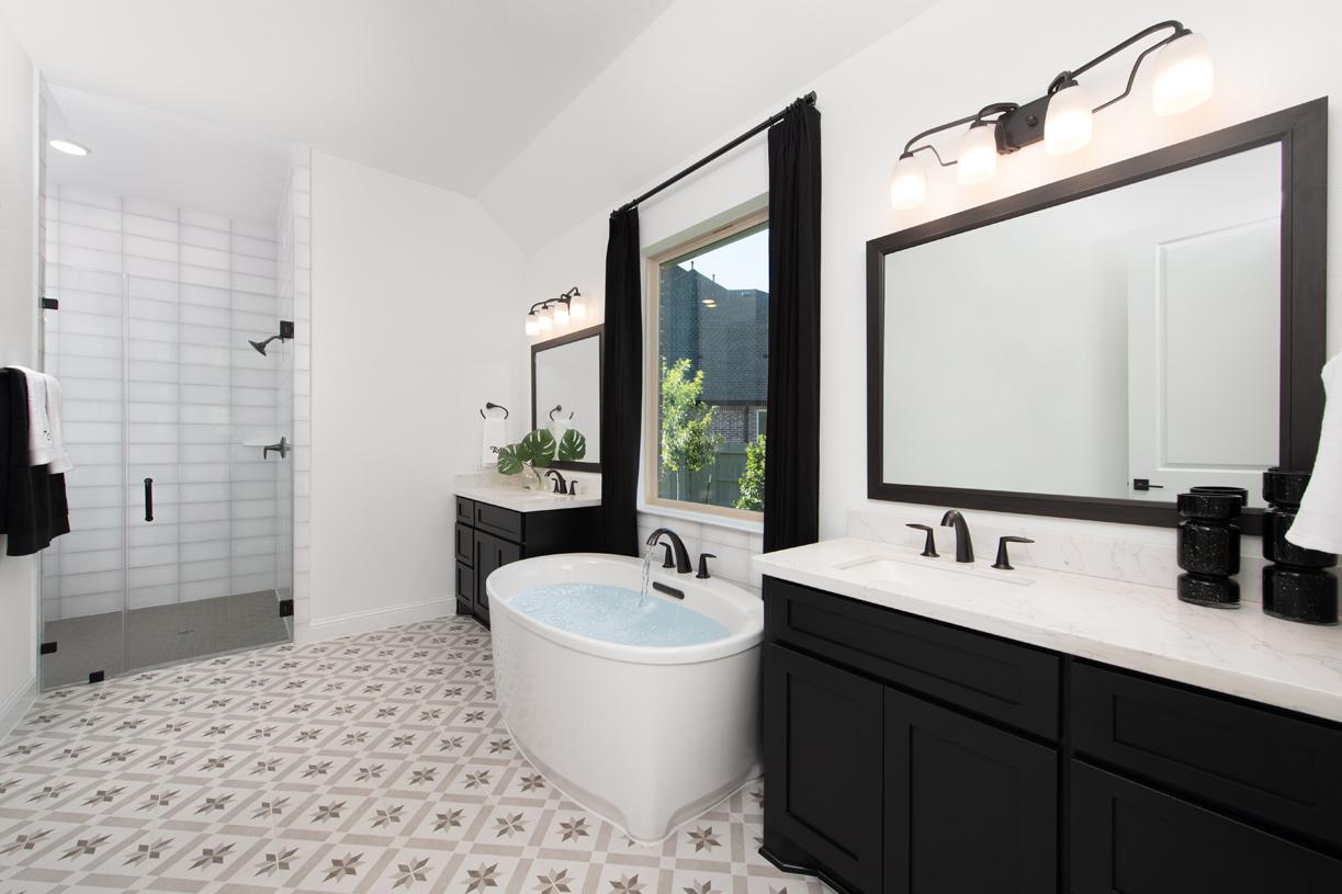 Escape in Loralai's spa-like primary bathroom