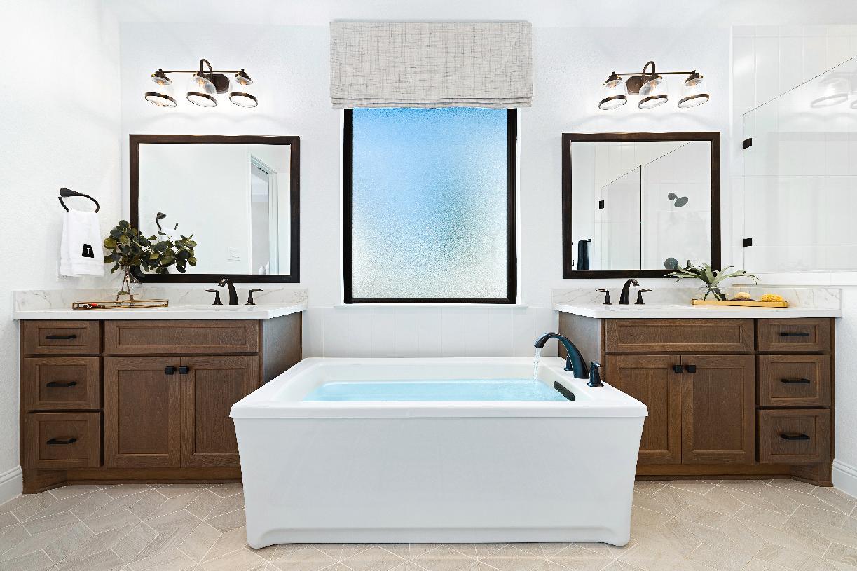 Draper primary bath