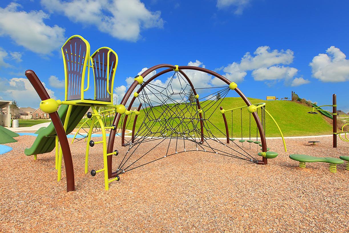 Dedicated children's play areas at Pomona