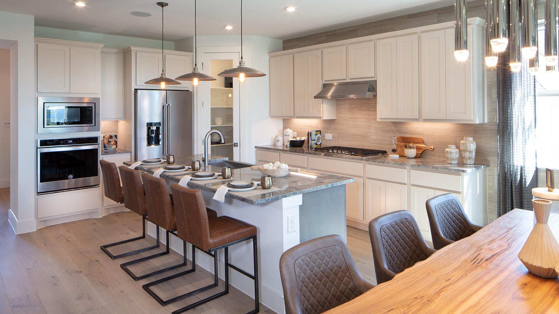 Alden kitchen with center island