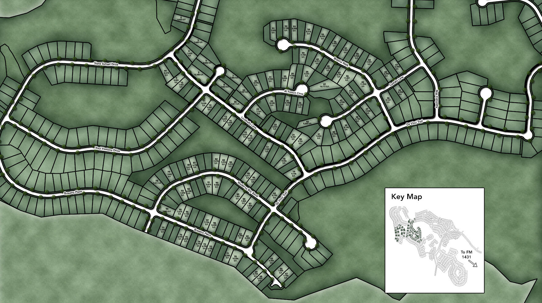 Travisso - Capri Collection Site Plan