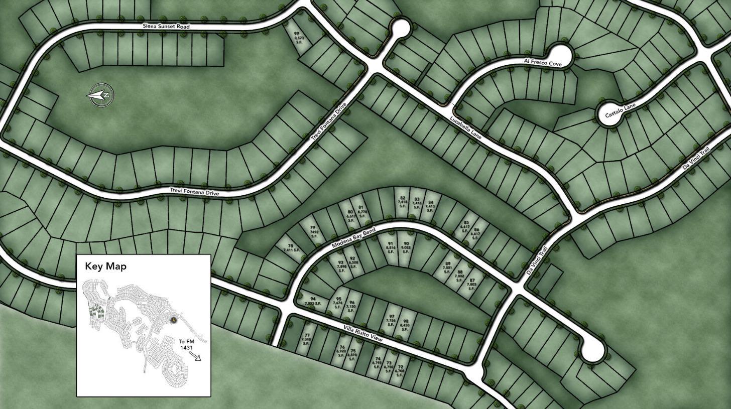 Travisso - Capri Collection Site Plan IV