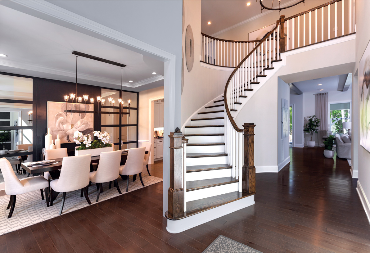 Stunning two-story foyers