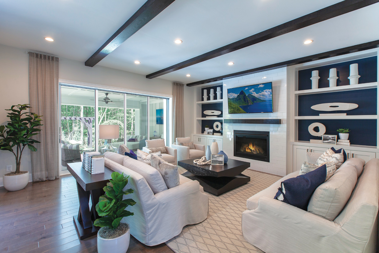 Make your Great Room the central gathering place