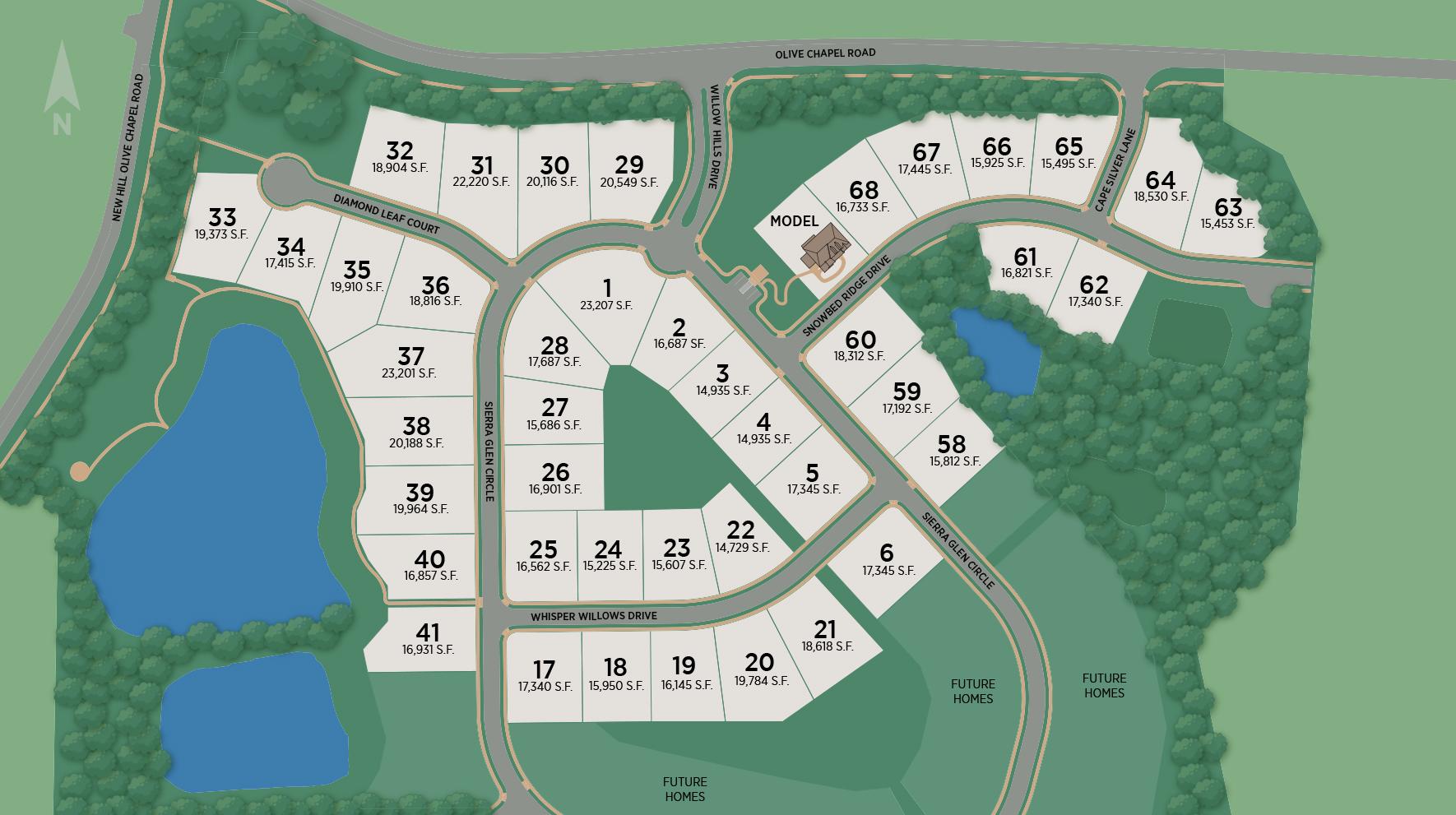 Willow Hills Site Plan