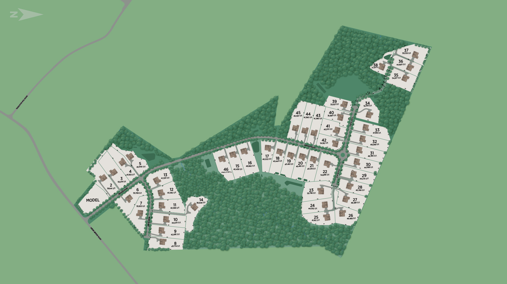 Willowcreek Site Plan