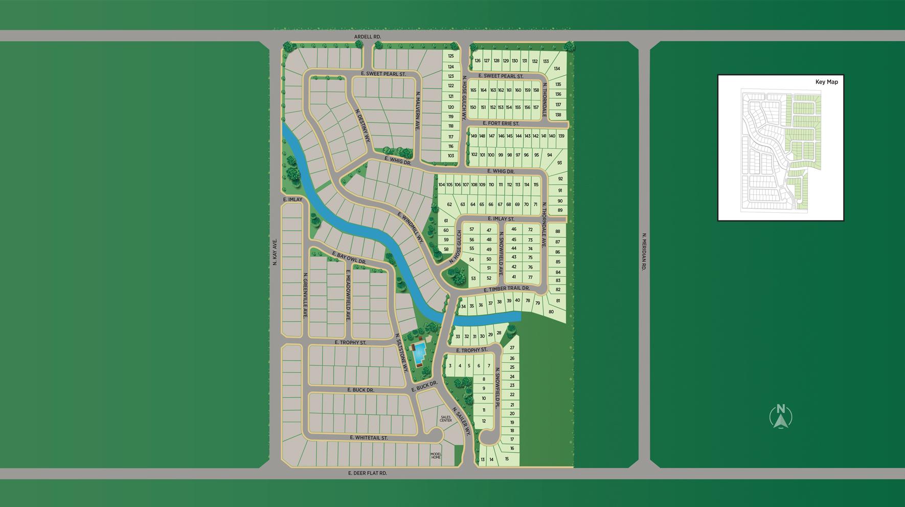Sterling Ranch - Garden Site Plan