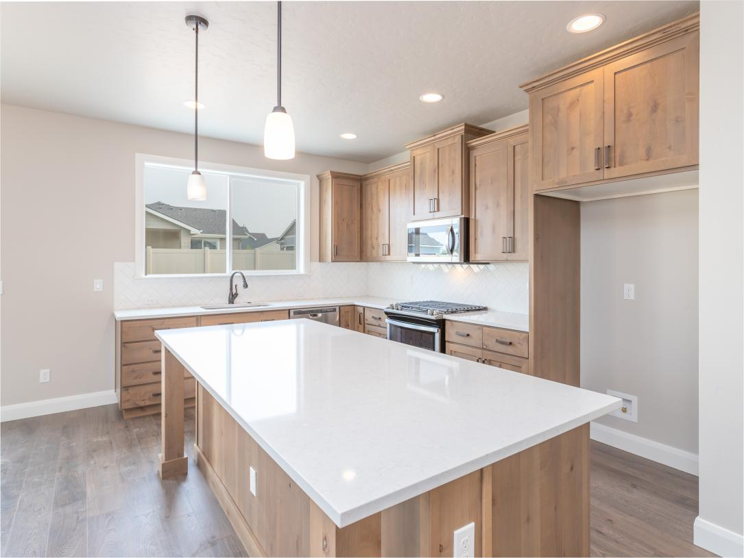 Sleek and elegant kitchen