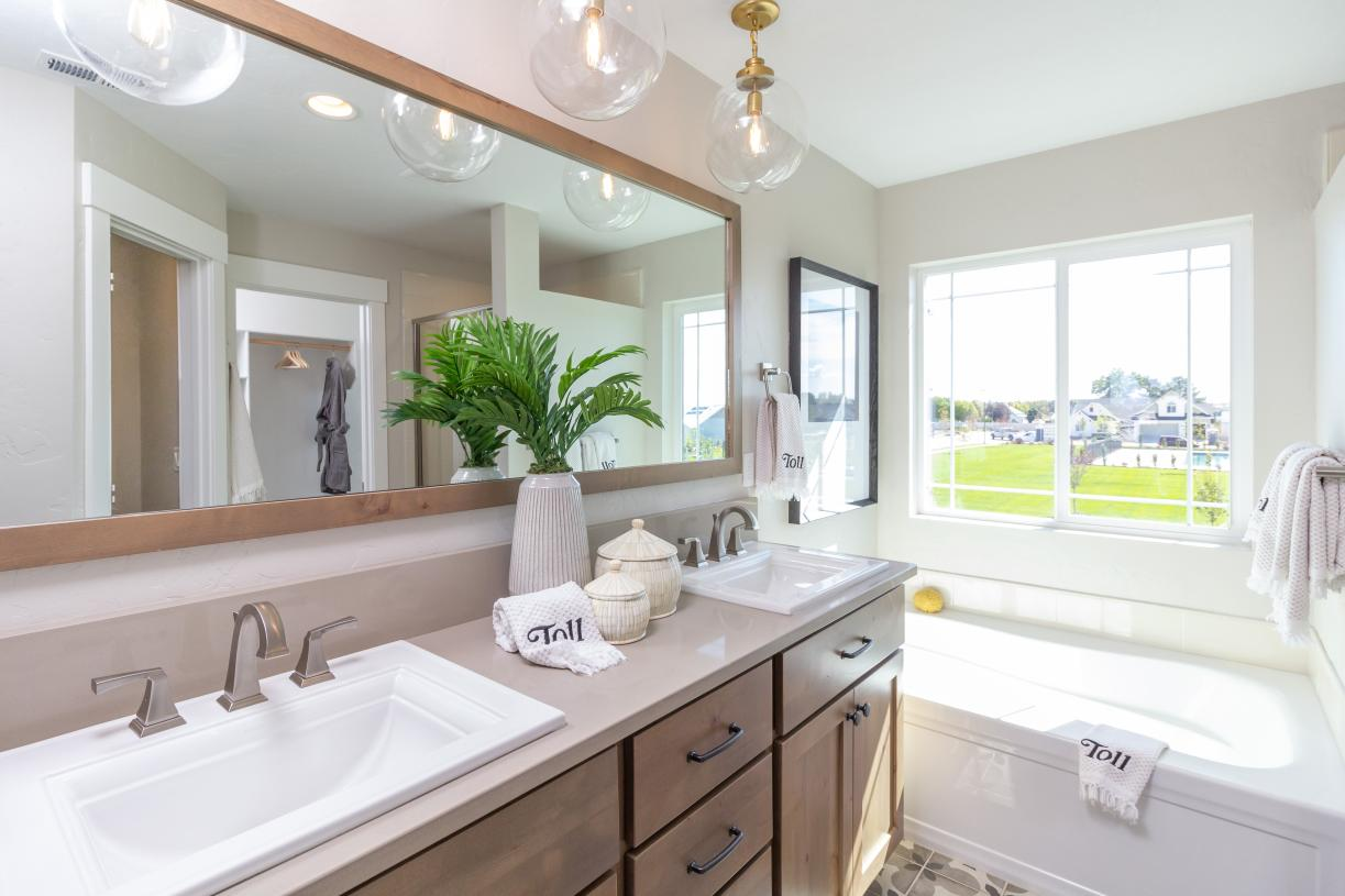 Hudson primary bath - Garden Collection