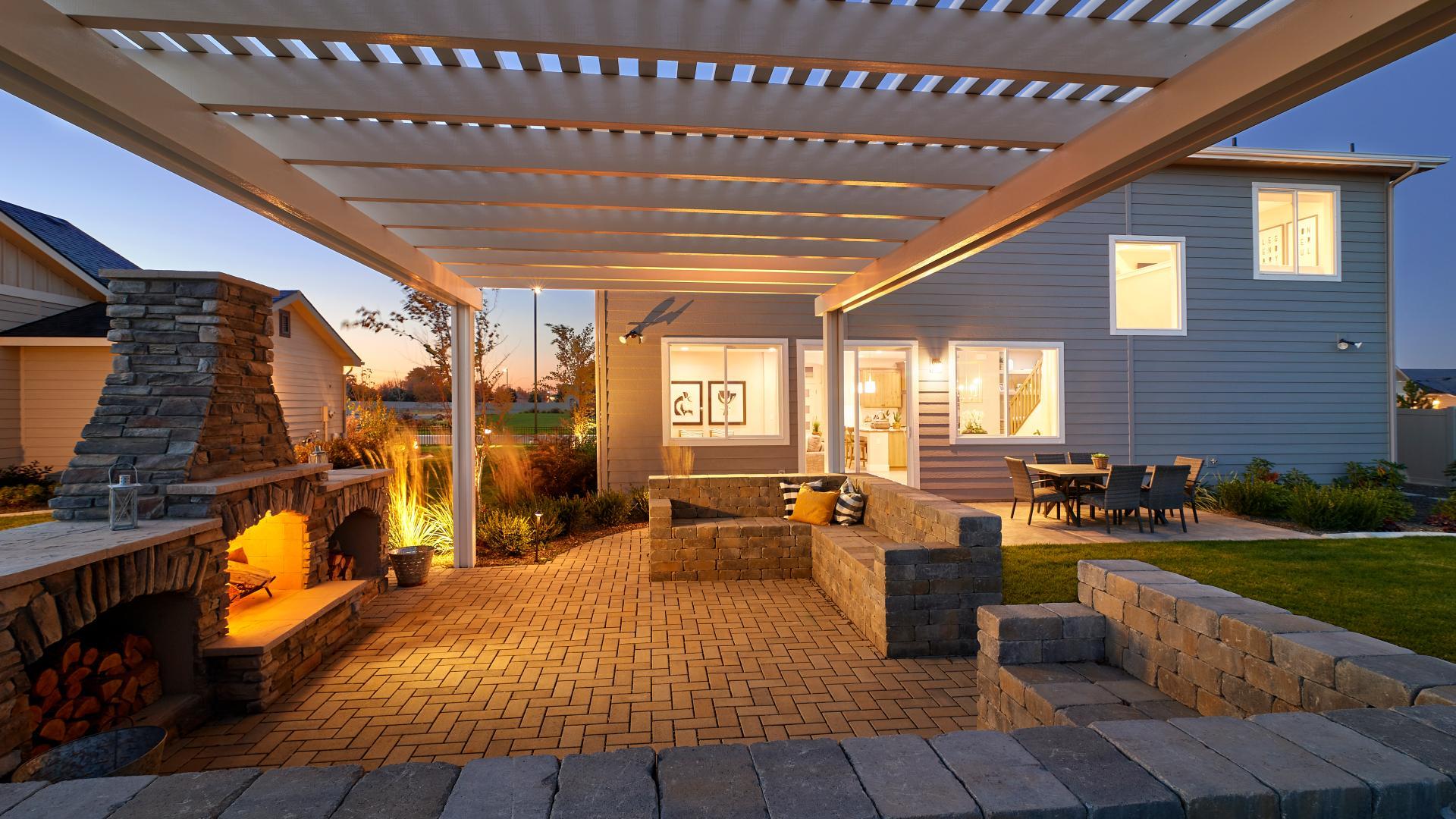Hudson patio - Garden Collection