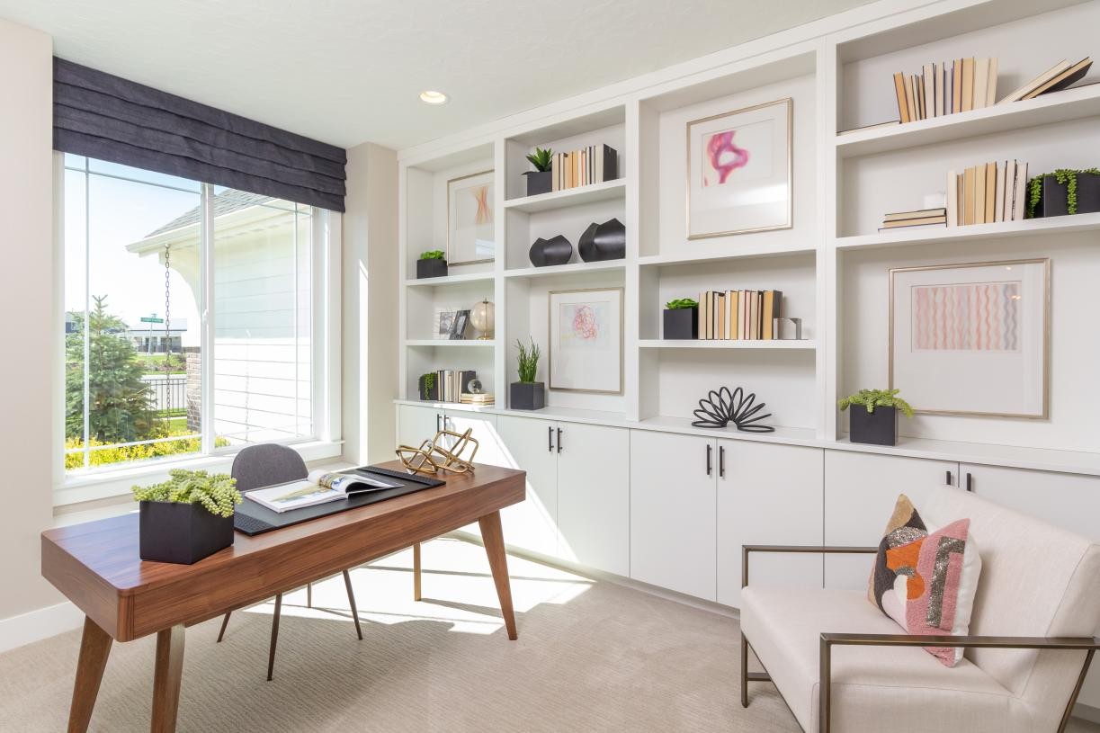 Functional flex room makes an ideal home office