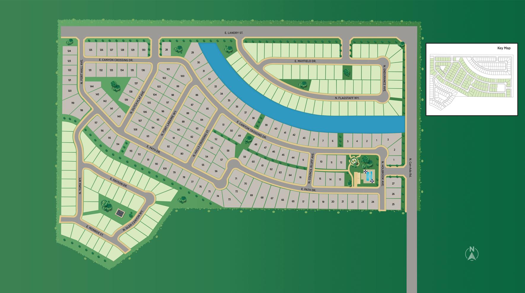 Fairhaven - Woodland Site Plan