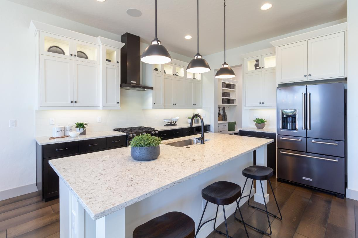 Large kitchens for entertaining
