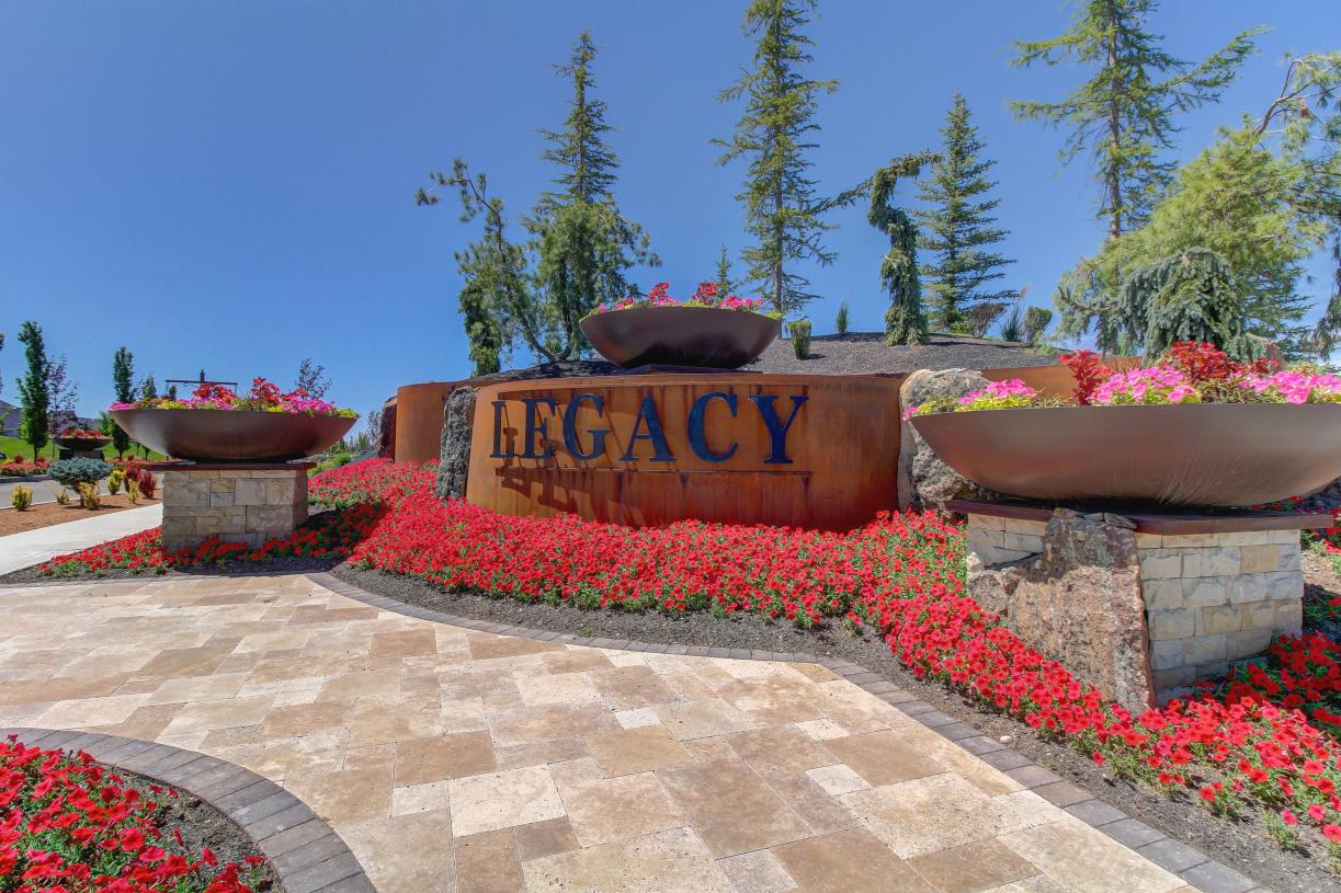 Grand entrances and beautiful landscaping
