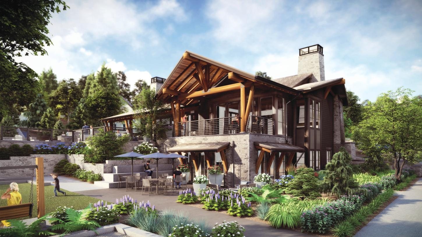 Residents will enjoy multiple indoor and outdoor gathering areas at the community clubhouse