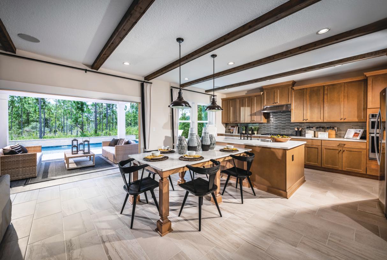 Well-designed kitchen