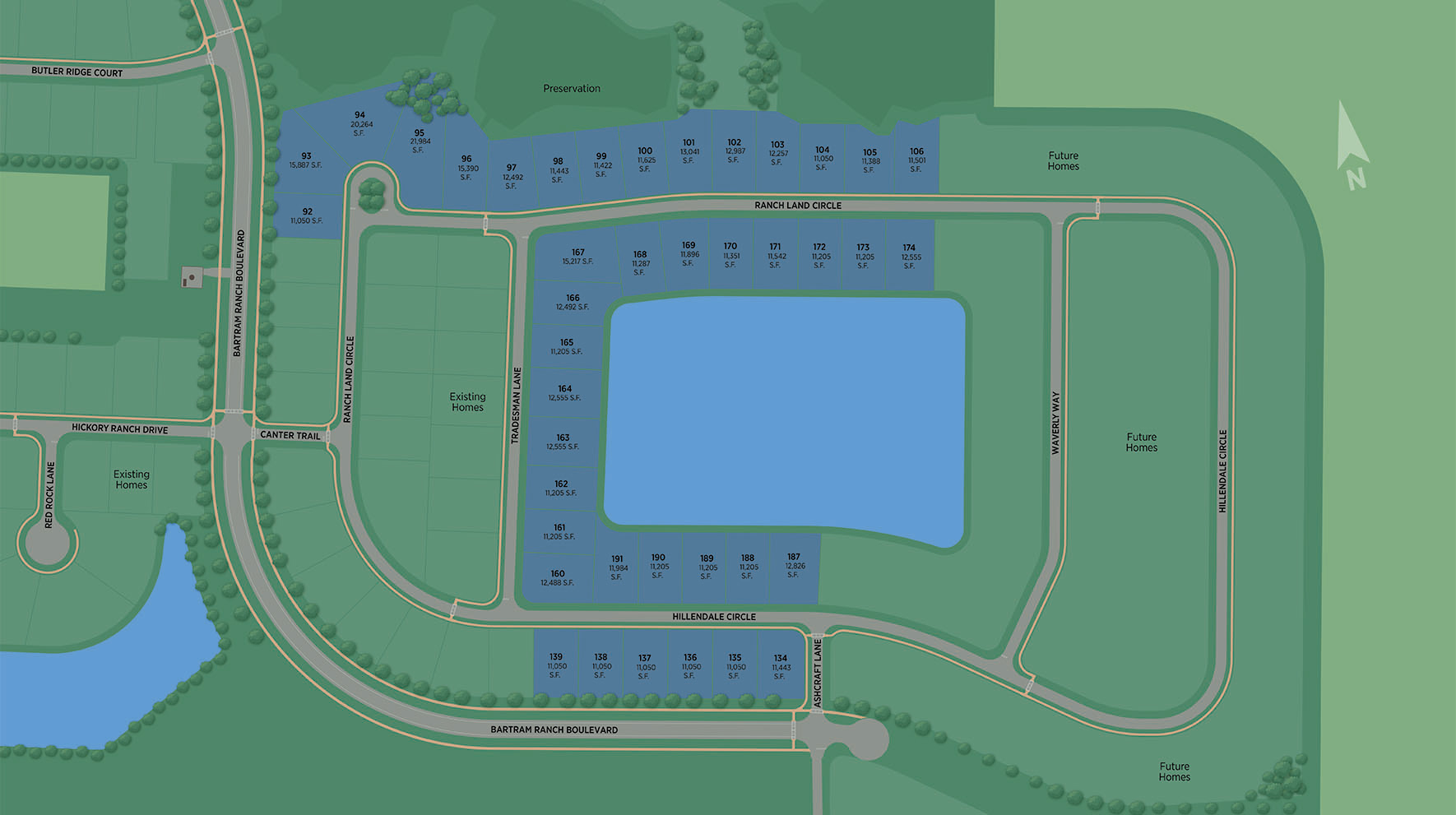 Bartram Ranch Site Plan III