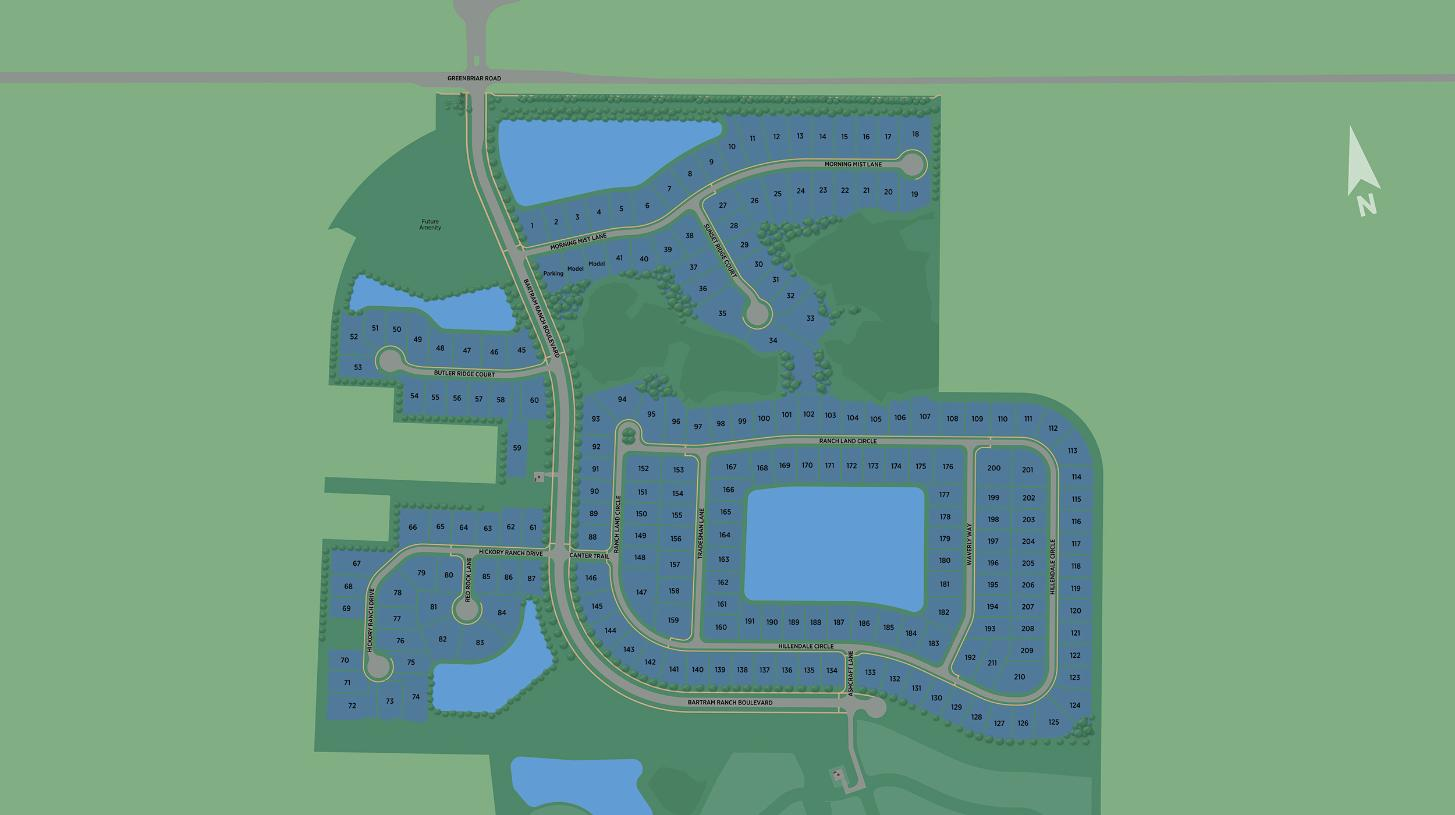 Bartram Ranch Overall Site Plan