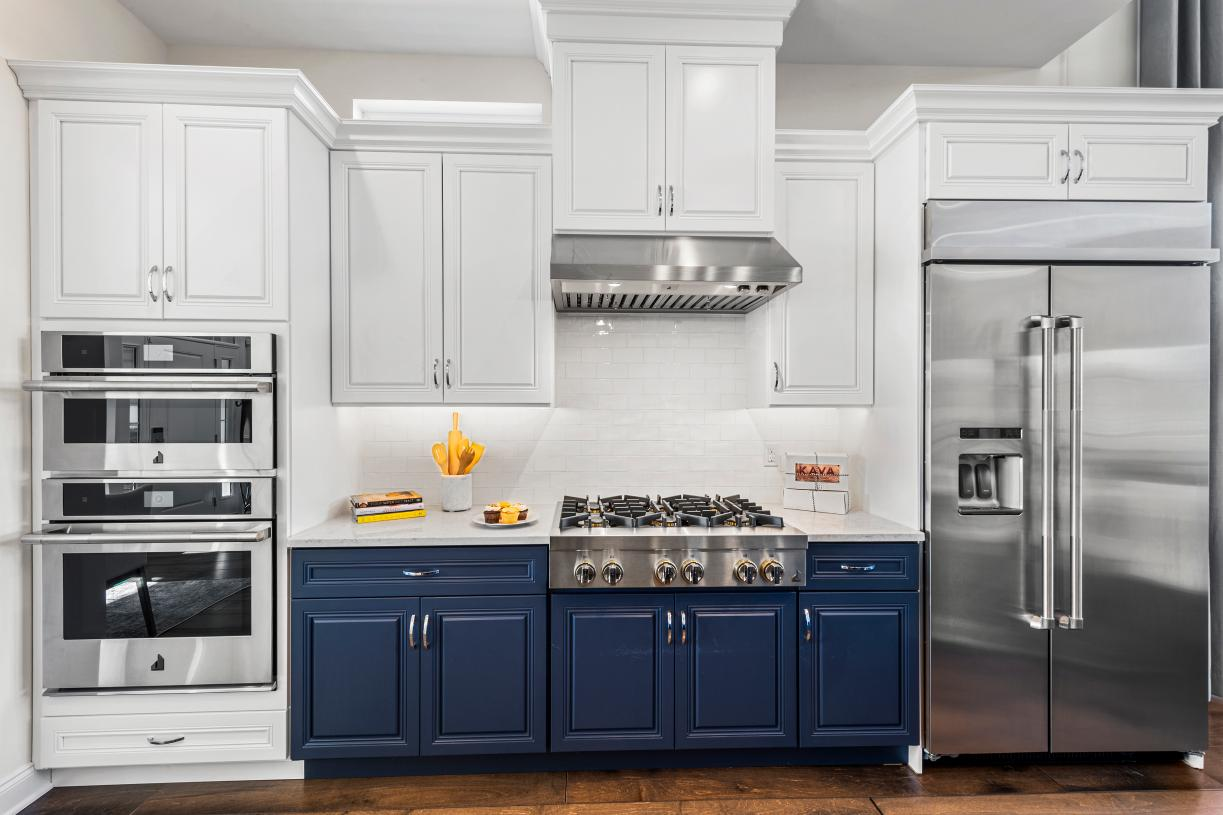 Exquisite details from Century cabinetry and stainless steel appliances from Whirlpool