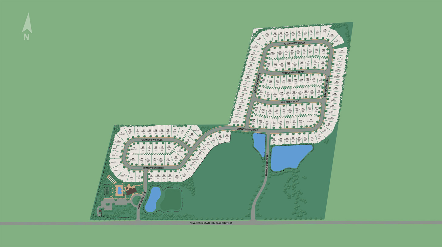Regency at Allaire Overall Site Plan
