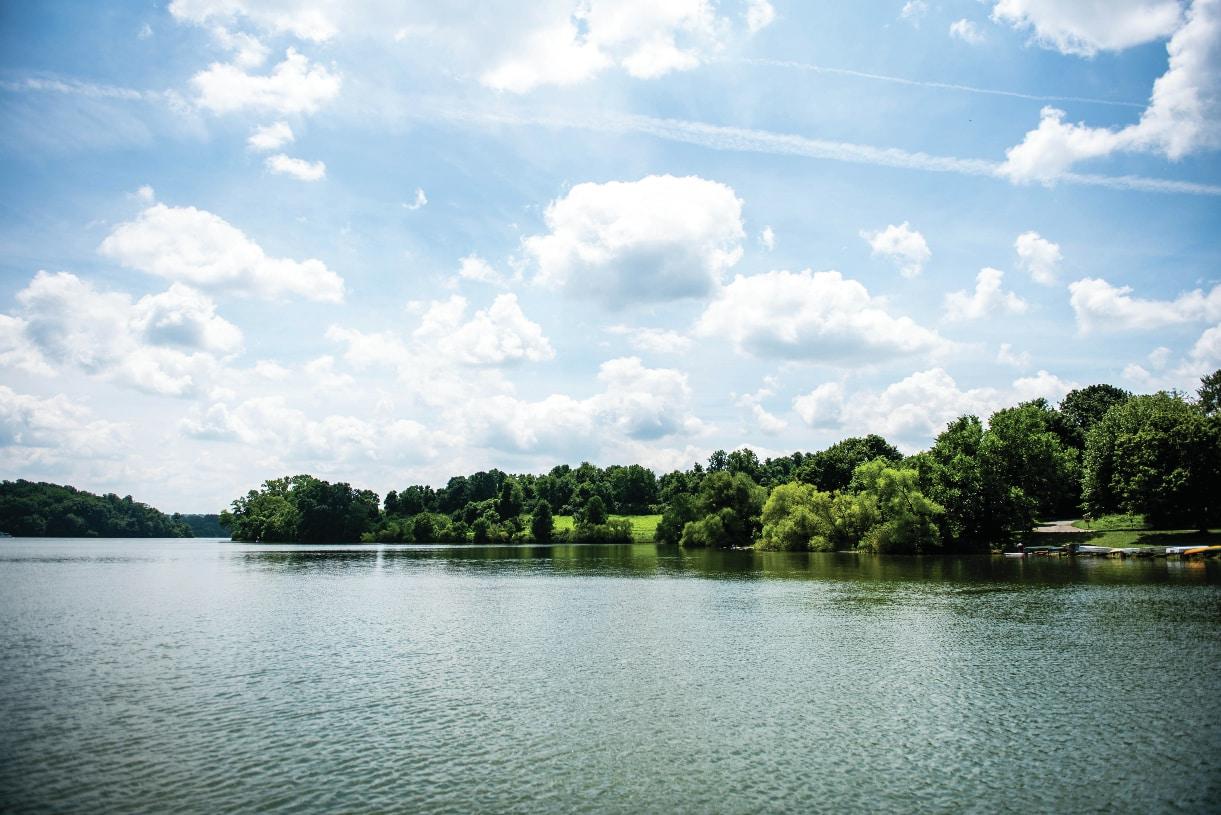 Marsh Creek State Park is 10 minutes away