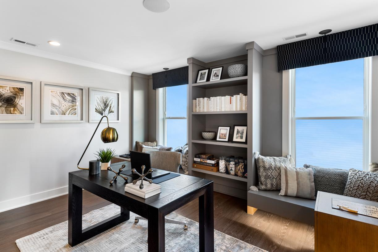 Work from home with dedicated office space