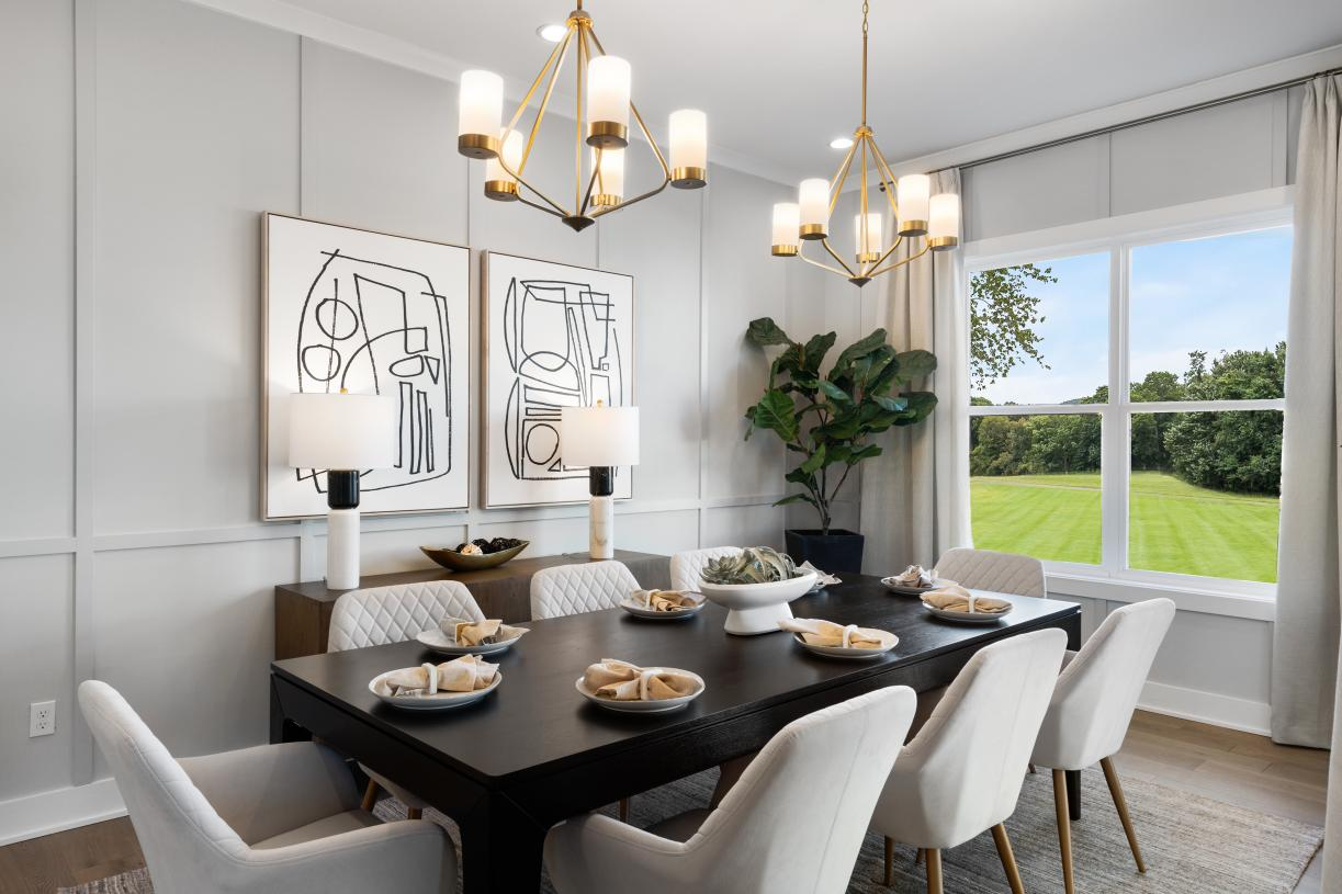 Dining room perfect for entertaining