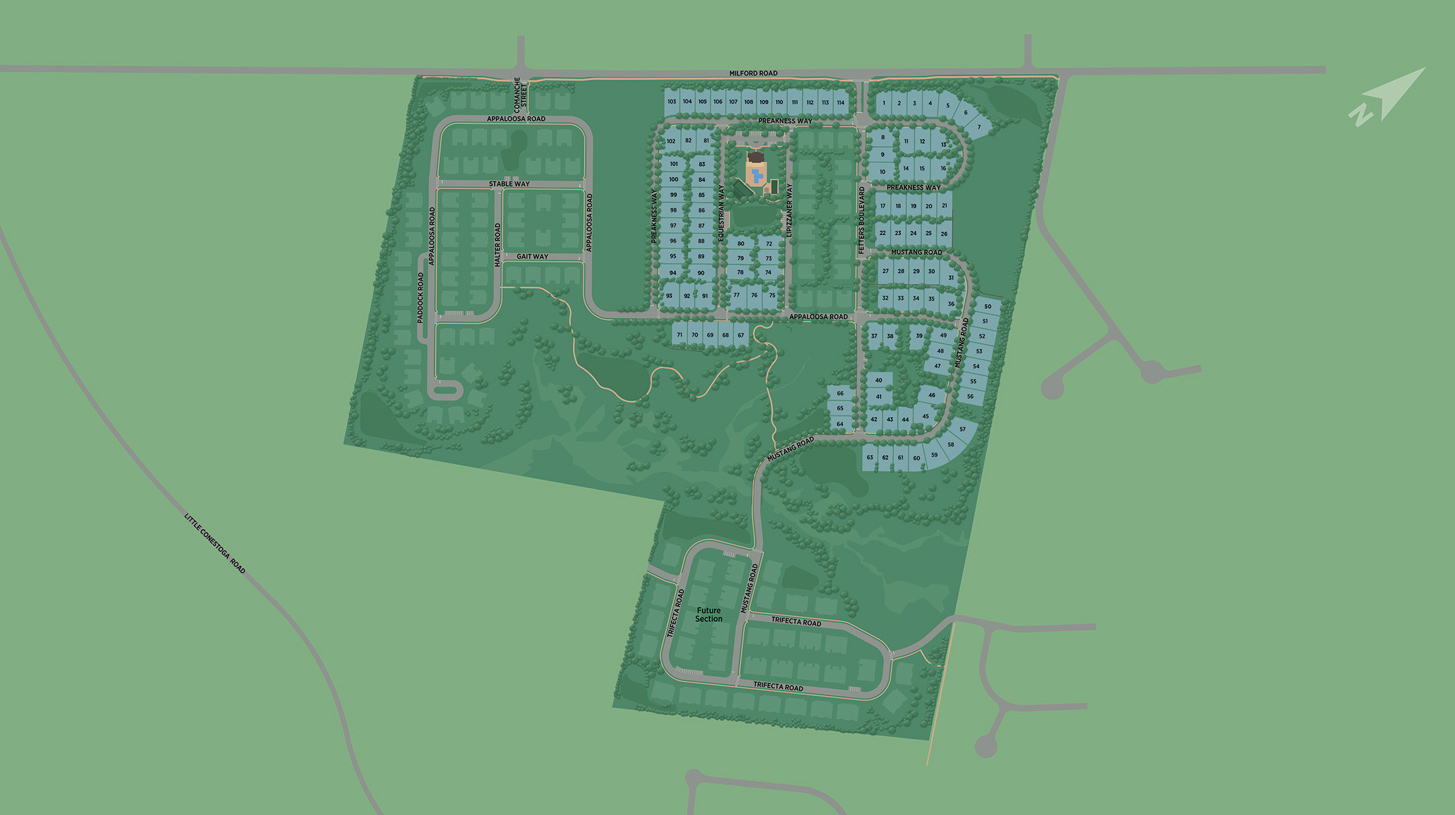 Preserve at Marsh Creek Overall Site Plan