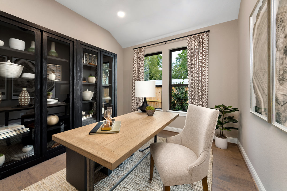 Draper's home office is ideal for working from home