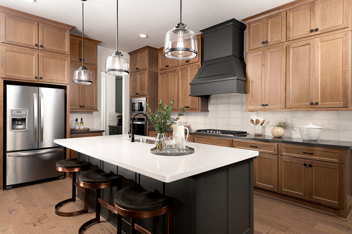 Draper's expansive gourmet kitchen is ideal for entertaining