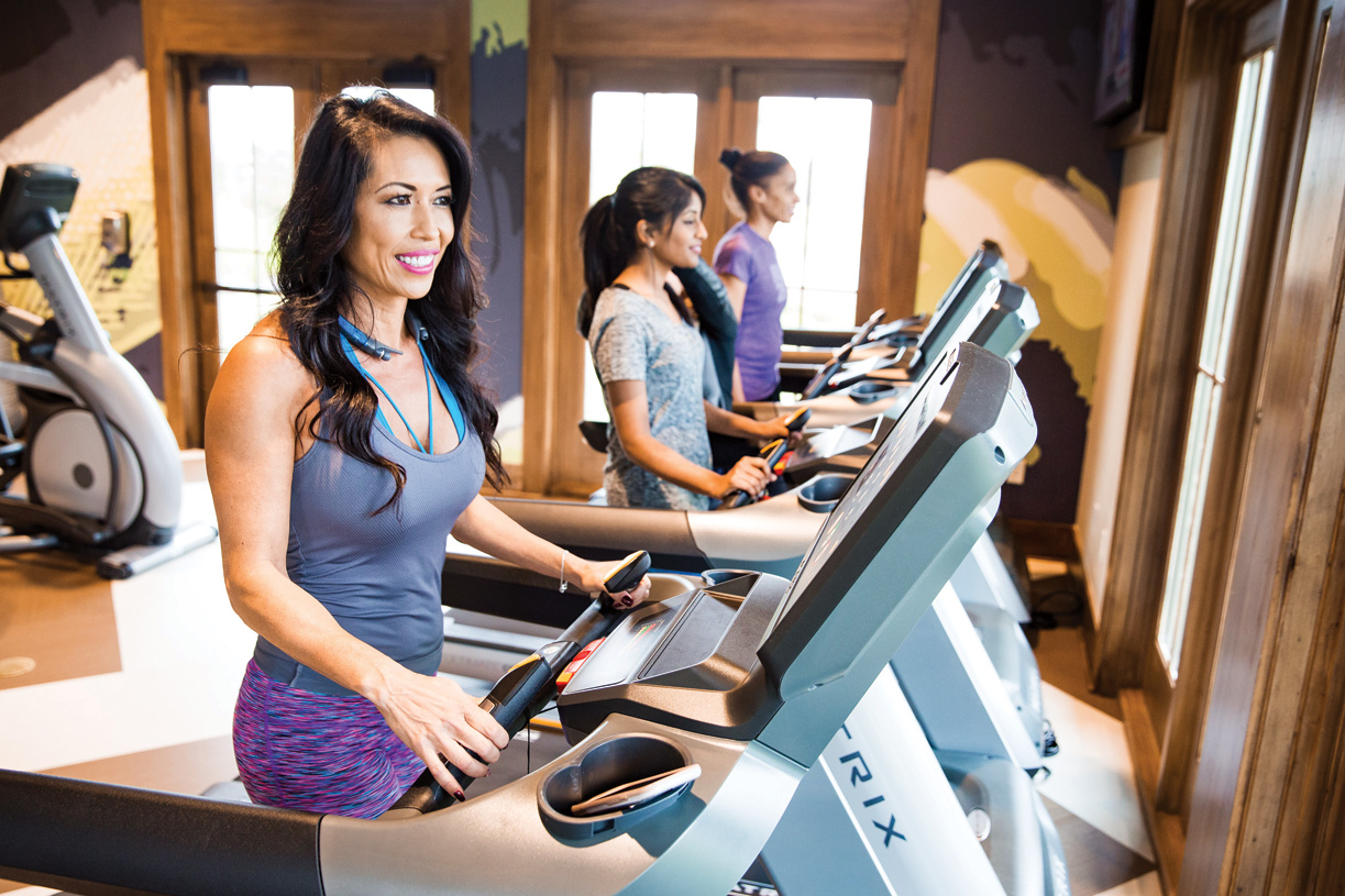 State-of-the-art fitness center at Sienna offers many classes and workout opportunities