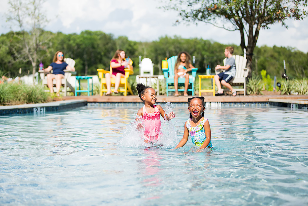 Sparkling pools await new Sienna residents