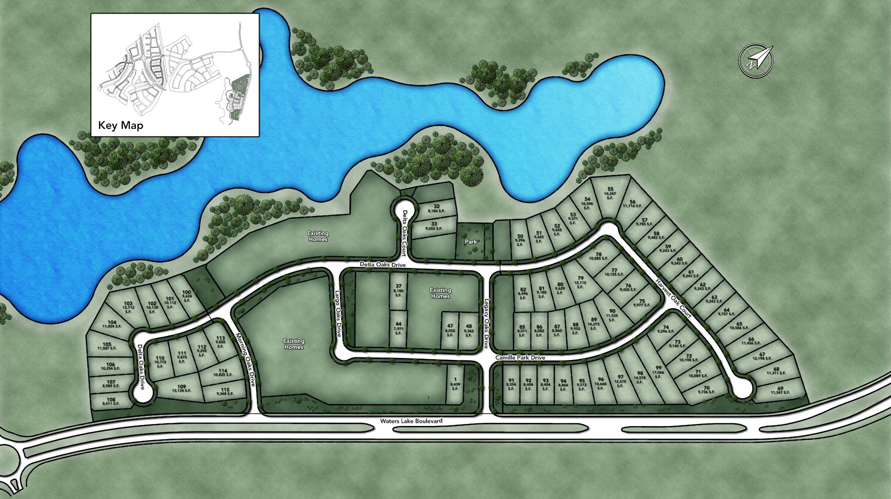 Sienna - Select Collection Site Plan