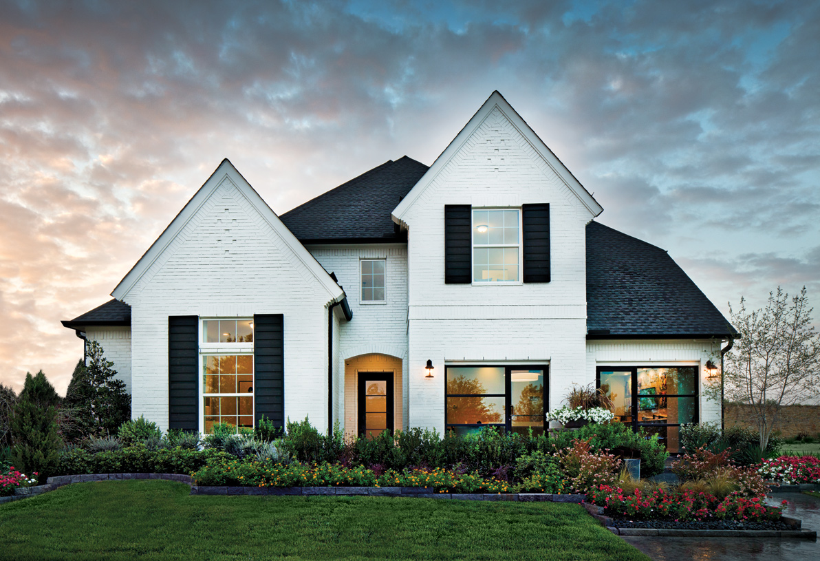 The modern and timeless details of the Longview Classic home